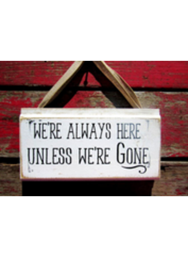 #328w We're always here…