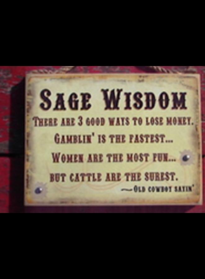 #852w Sage Wisdom