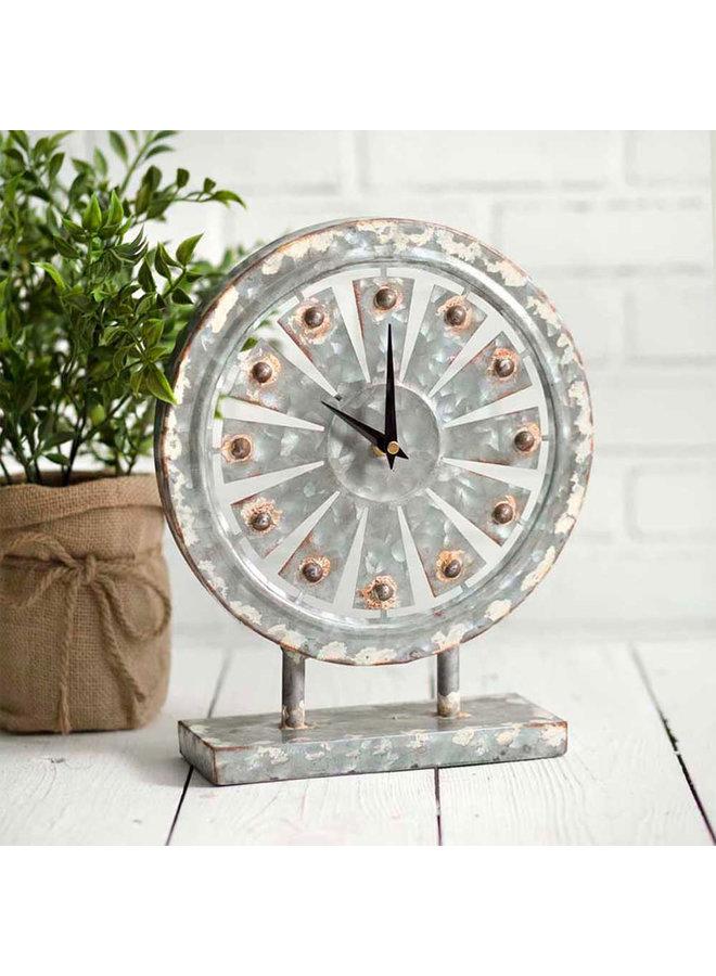 Windmill Table Clock