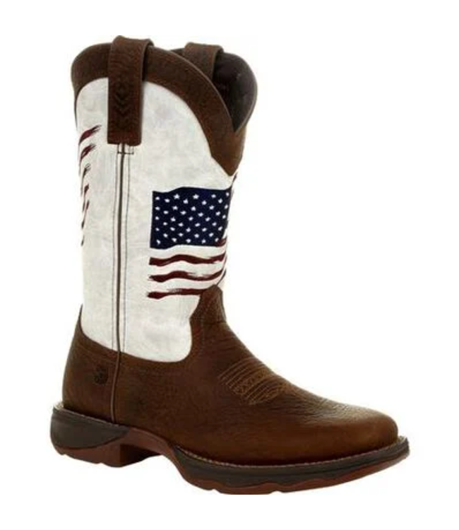 Durango Lady Rebel™ Women's Distressed Flag Embroidery Western Boot