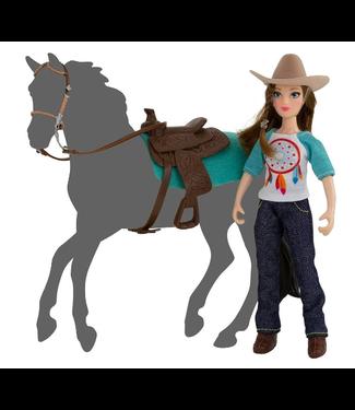 Breyer Natalie Western Rider w/Tack