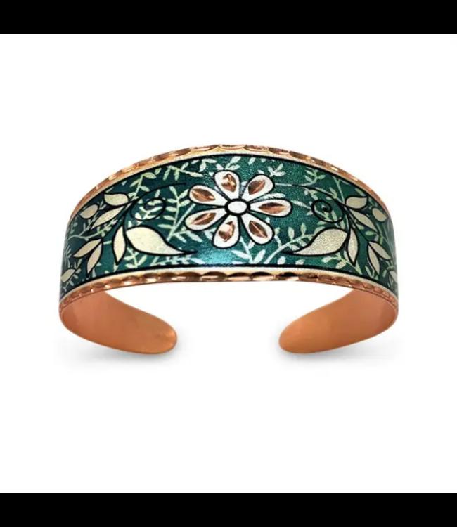 Copper Wide Cuff Bracelet