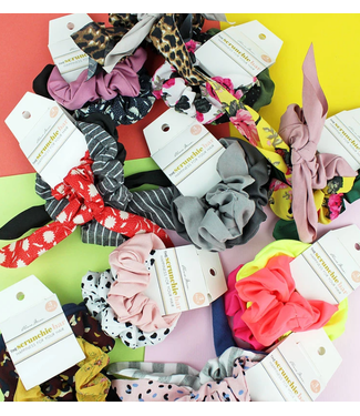 Set of 3 Assorted Scrunchies