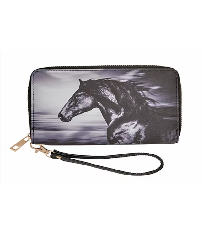 Lila Clutch Wallet w/Strap