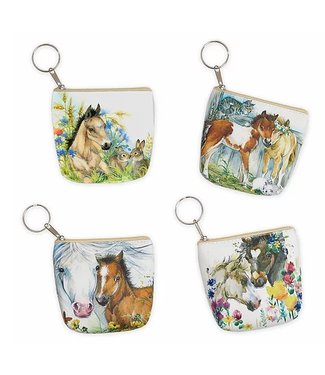Key Chain Coin Purses Assorted