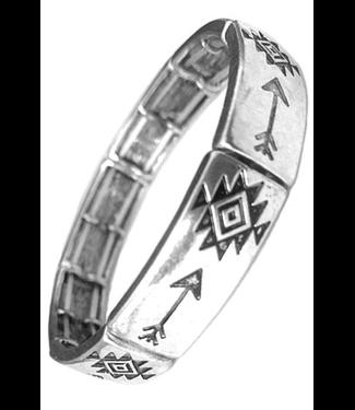 Western Arrow Double Stretch Bracelet