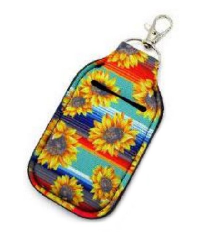 Key Chain Hand Sanitizer Holder