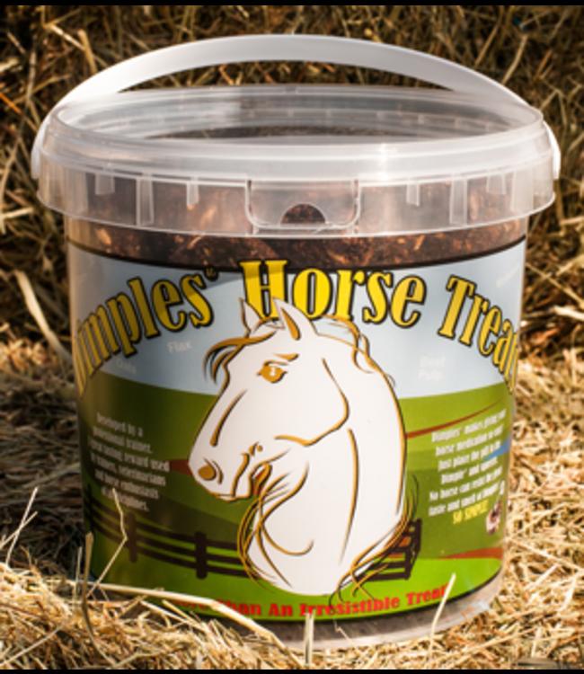Dimples Horse Treats 3 lb. Bucket