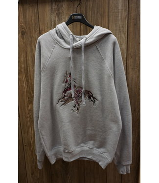 Beyond the Barn Scribble Horse Crossover Hoodie