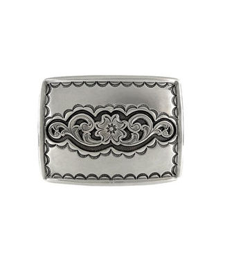 Southwestern Tooled and Engraved Belt Buckle