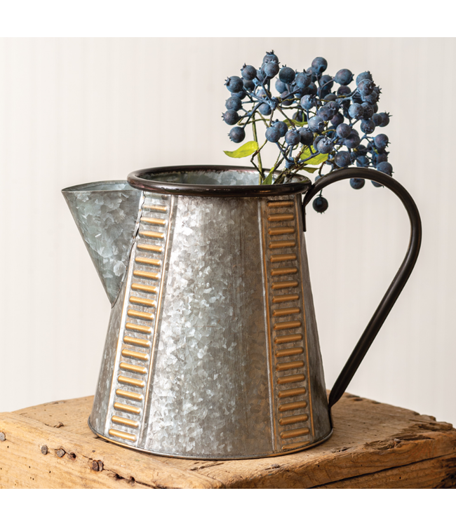 CTW Home Collection Copper and Galvanized Pitcher