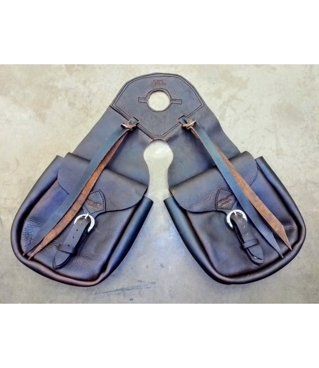 Beyond the Barn Handmade Leather Horn Bags