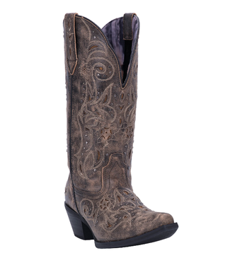 Laredo Women's Vanessa Wide Calf Leather Boot