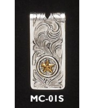 Money Clip with Star