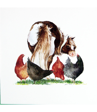 Blank Greeting Cards - Animal Artwork