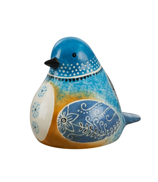 Studio M Bluebird Bird Song Decorative Figurine