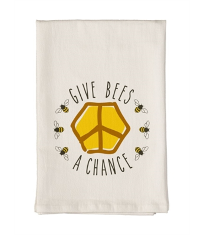 Studio M Give Bees a Chance Towel