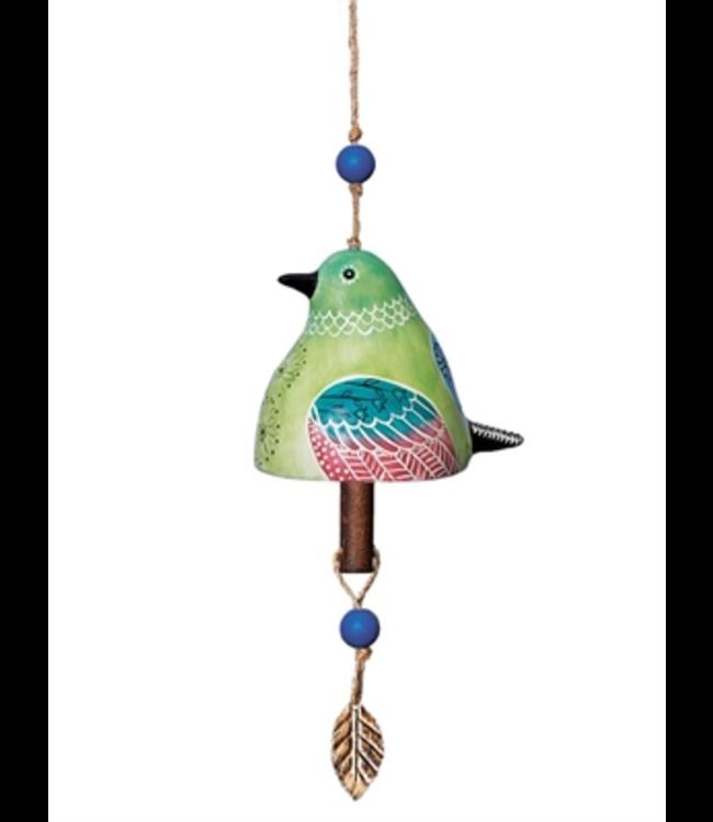 Studio M Hummingbird Ceramic Bell
