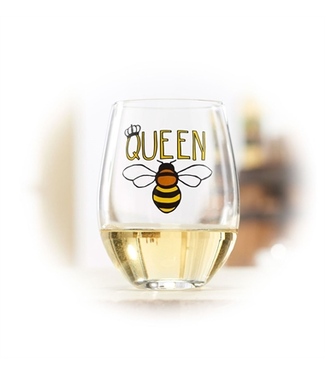 Studio M Queen Bee Wine Glass