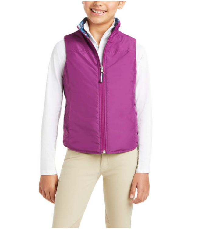 Ariat Girl's Emma Reversible Vest
