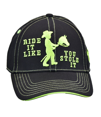 Cowboy Hardware Kid's Cap Ride It Like You Stole It