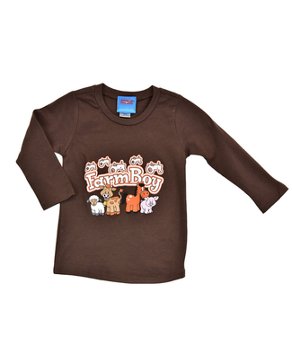 Cowboy Hardware Infant/Toddler Farm Boy Long Sleeve Tee