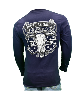 Cowboy Hardware Tough As Nails Long Sleeve Tee