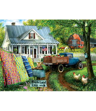 Countryside Living 1000 Piece Puzzle