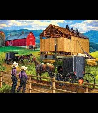 Raising the Barn 500 Piece Puzzle