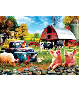 Farm Days 1000 Piece Puzzle