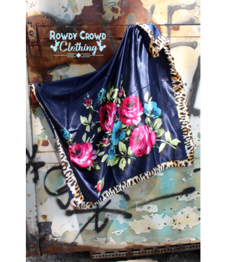 Rowdy Crowd Clothing Fiesty Floral Wild Rag
