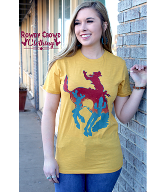 Rowdy Crowd Clothing Bowie Bronc Tee
