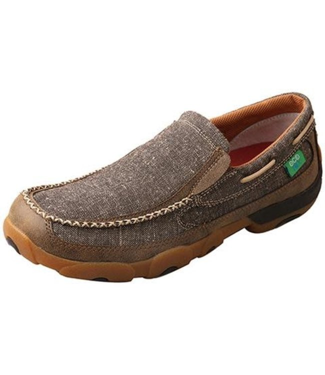 Twisted X 632 Men's Eco TWX Slip On Driving Moccasins