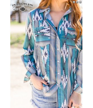 Crazy Train Clothing NFR Worthy Button Up