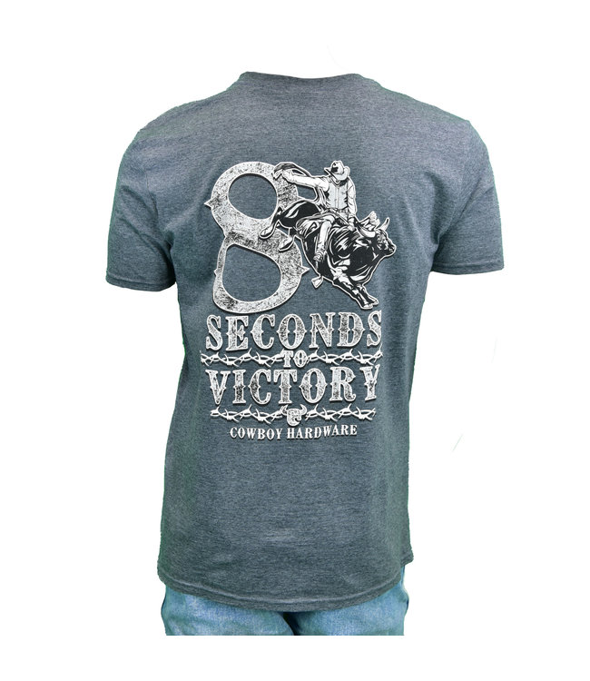 Cowboy Hardware 8 Seconds to Victory SS Tee