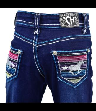 Cowboy Hardware Toddler Serape Horse Jean