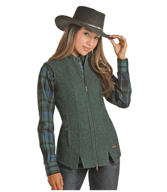 Powder River Outfitters Powder River Ladies Wool Vest 58-6648
