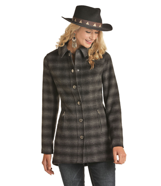 Powder River Outfitters Powder River Ladies Wool Coat 52-6646