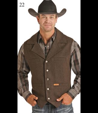 Panhandle Slim Men's Solid Wool Vest 98-1176