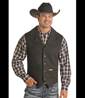 Panhandle Slim Men's Pinstripe Wool Vest 98-6632