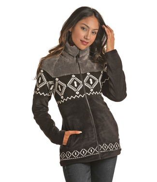 Panhandle Slim Ladies Super Cozy Aztec Fleece 52-6692