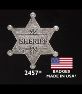 Old West Sheriff Badge