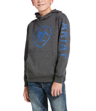 Ariat Ariat Boy's Logo Hoodie Charcoal Heather