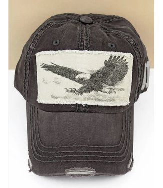 Distressed Soaring Eagle Cap