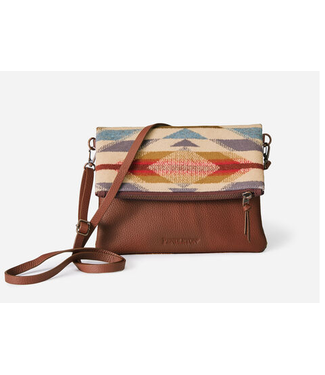 Pendleton Foldover Clutch Wyeth Trail