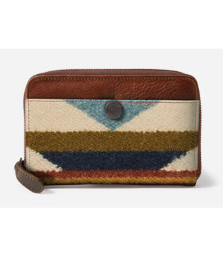 Pendleton Zip Wallet Wyeth Trail