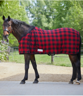 Lumberjack Fleece Horse Blanket