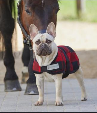 Lumberjack Fleece Dog Blanket
