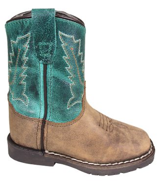 Smoky Mountain Toddler Autry Boot Teal 3056T
