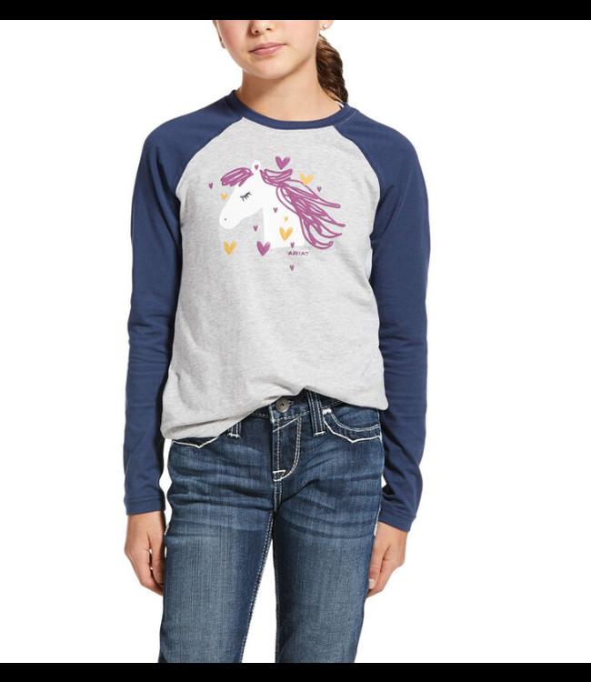 Ariat Girl's My Love LS T-Shirt